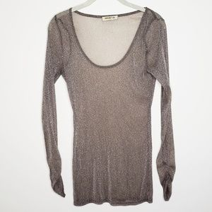 ARDEN B Sheer Sexy Top, Size M